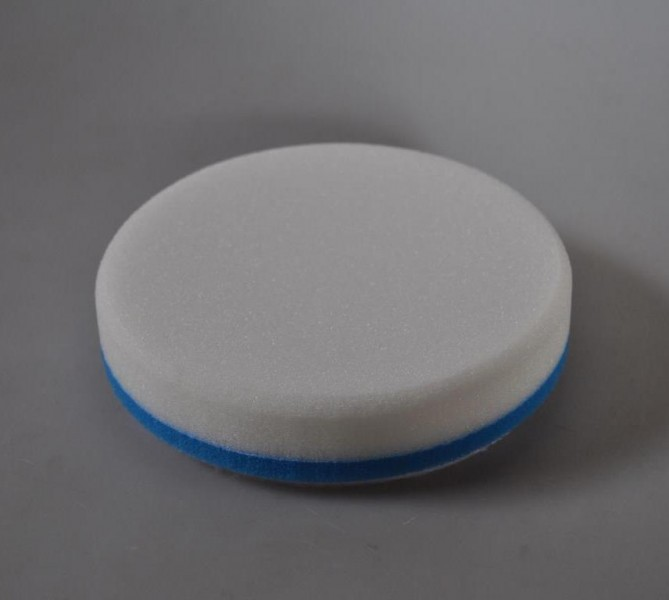 Lake Country Constant Pressure Hi-Gloss White Flat Polishing Pad