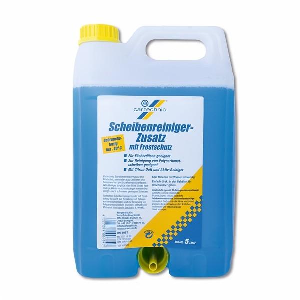 CarTechnic Scheibenreiniger-Zusatz mit Frostschutz Gebrauchsfertig 5 Liter