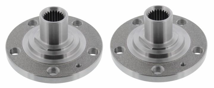 Radnaben Satz VW GOLF 1 UMBAUSET von 4x100 auf 5x100 Plug & Play