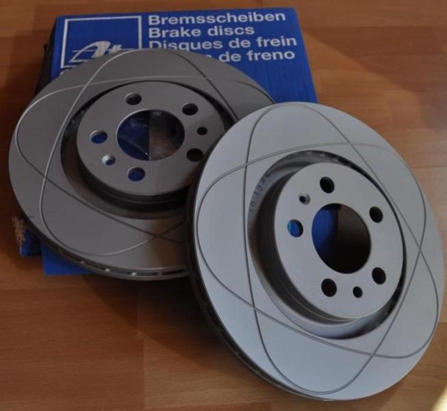 "256mm Bremsscheiben ""Power Disc"" VW Golf 4 / Bora Hinterachse"