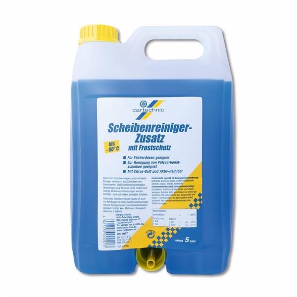 CarTechnic Scheibenreiniger-Zusatz mit Frostschutz 5l