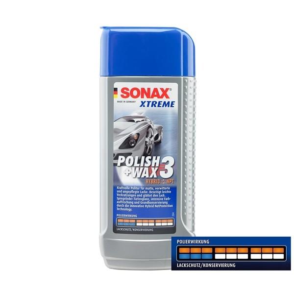 Sonax Wachs Xtreme Polish & Wax 3 Hybrid NPT 500ml