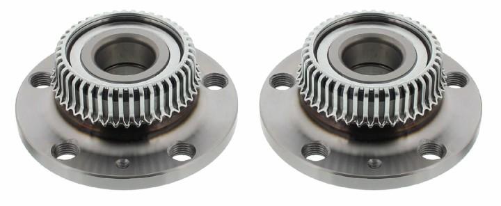 Radnaben Satz VW GOLF 4 IV UMBAUSET von 5x100 auf 5x112 Plug&Play Hinterachse