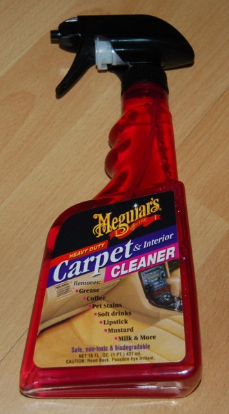Carpet & Interior Cleaner 473ml