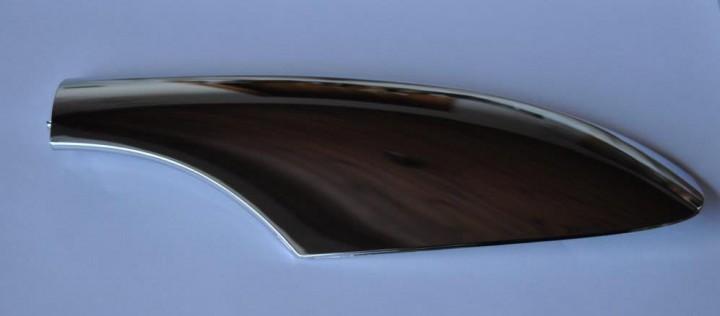 Original Chrom Abdeckung Dachreling VW Passat 3BG vorne links Variant