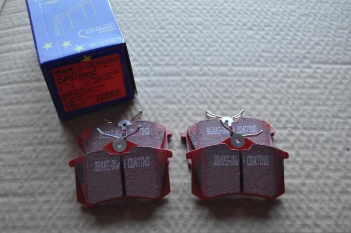 DP31230C Redstuff Bremsbeläge Keramik Bremsbeläge