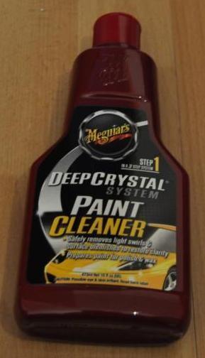 Step 1 - Deep Crystal Paint Cleaner 473ml