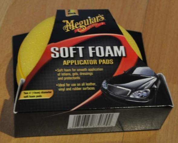 Soft Foam Applicator Pads Inhalt: 2 Stück