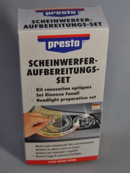 Presto Scheinwerfer Aufbereitungs-Set