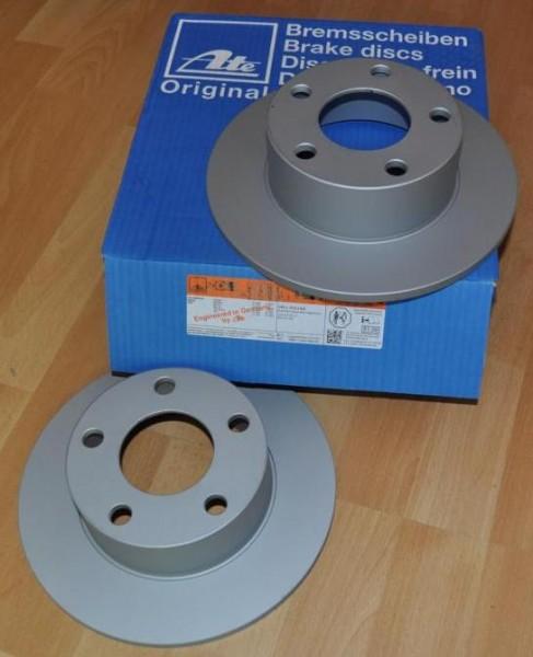 ATE Bremsscheiben Hinterachse 245mm Passat 3BG für PR-Nummer 1KD,1KF