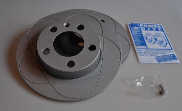 ATE Power Disc Hinterachse 230mm VW Golf 4 Bora