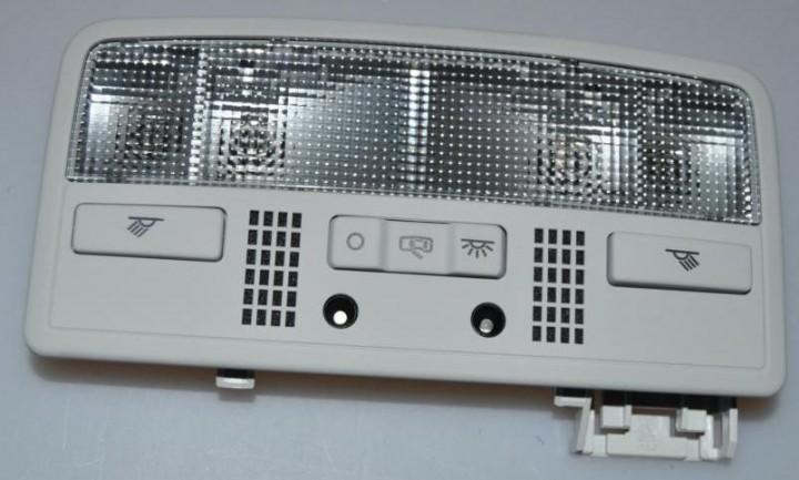 W8 LED Innenleuchte Leseleuchte perlgrau