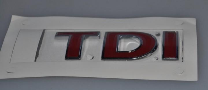 TDI Schriftzug