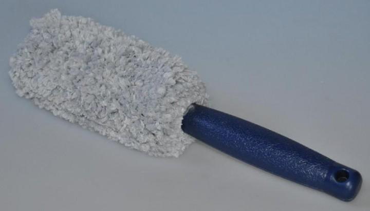 Handliche Microfaser Felgenbürste
