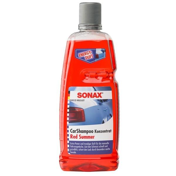 Sonax Auto Shampoo CarShampoo Red Summer 1 Liter