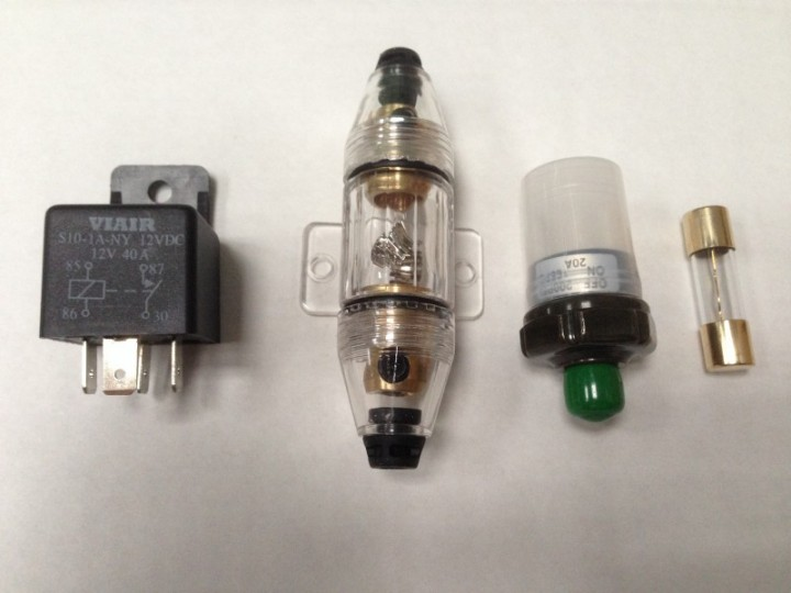 Anschlußkit für Kompressor mit Druckschalter 165 PSI-200 PSI (ca. 11,0-13,3 bar)