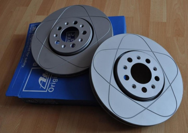 """312mm Bremsscheiben """"Power Disc"""" VW Golf 4 / Bora Vorderachse"""