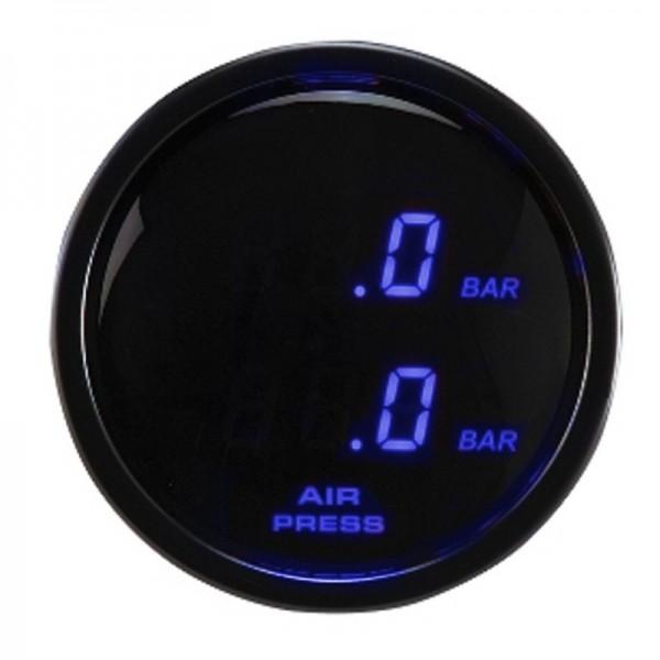 FAHRWairK Druckanzeige Digital blau beleuchtet