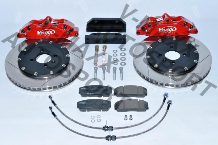 V-Maxx Big Brake Kit 290mm für VW Golf 1 Bj. 04.74 > 12.85 mit Stahlflex