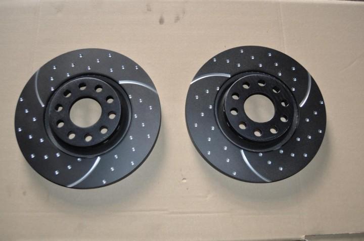 EBC GD1045 Turbo Groove Disc Black 312mm Audi A4 A6