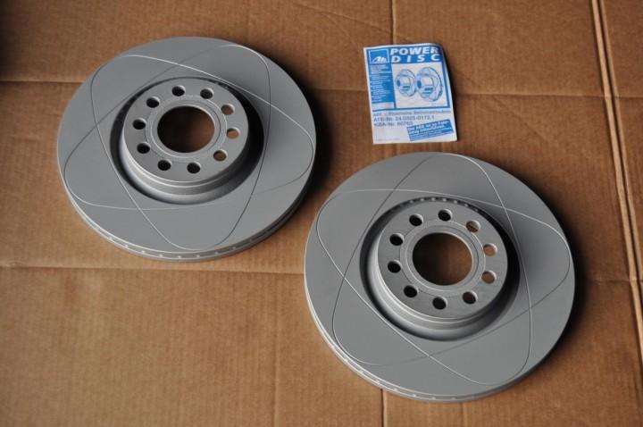 ATE Bremsscheibe Power Disc 1 Paar 312mm Vorderachse VW Passat 3BG