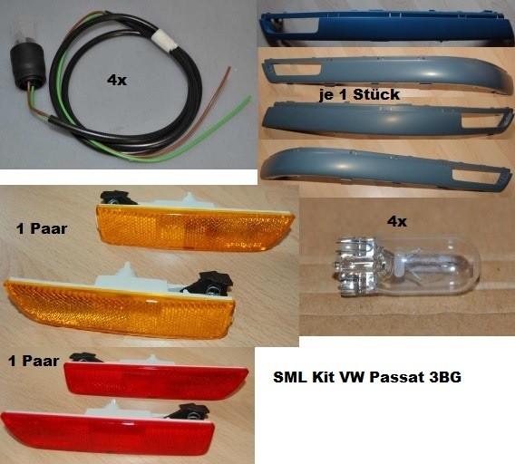 VW Passat 3BG Variant SML Kit Leisten - SML - Anschluss - Glühlampen